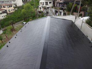 ブラック色の屋根