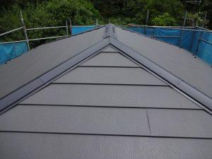 横浜市南区の屋根カバー工事
