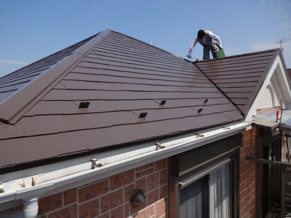 横浜市神奈川区で屋根の塗り替えを行いました