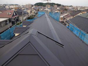 横浜市港北区の屋根カバー工事