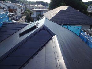 横浜市神奈川区の屋根カバー工事