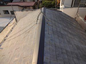 川崎市宮前区の棟板金交換工事