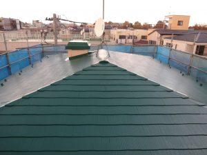 川崎市中原区の屋根塗装工事