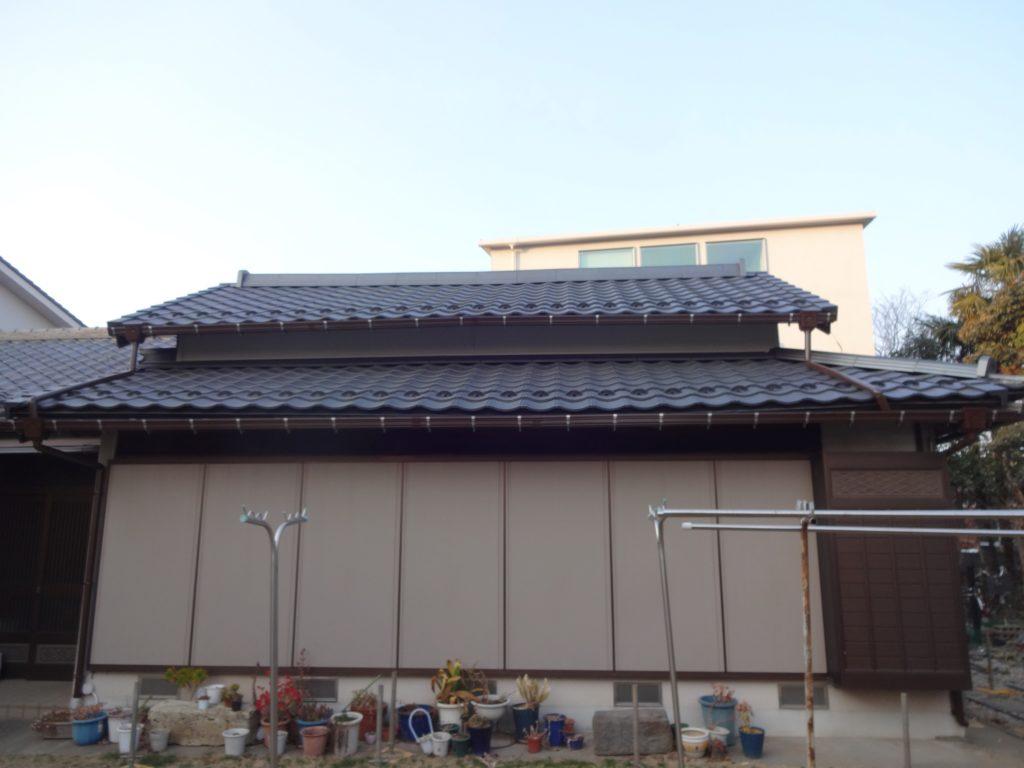 川崎市中原区にて屋根の葺き替えを行いました