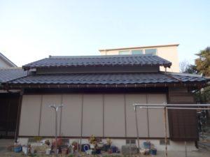 川崎市中原区の屋根葺き替え工事