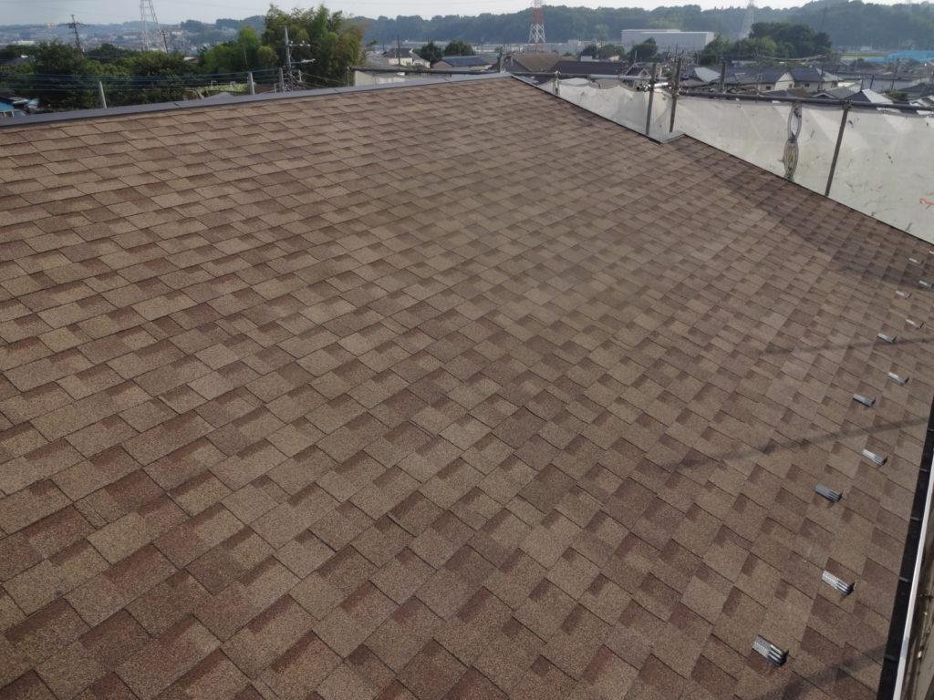 横浜市都筑区にて屋根カバー工事を行いました