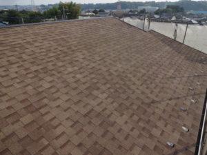 横浜市都筑区の屋根カバー工事