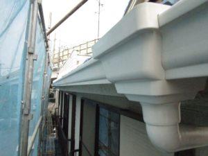 川崎市宮前区の雨樋交換工事