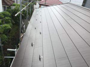 横浜市保土ヶ谷区の屋根カバー工事