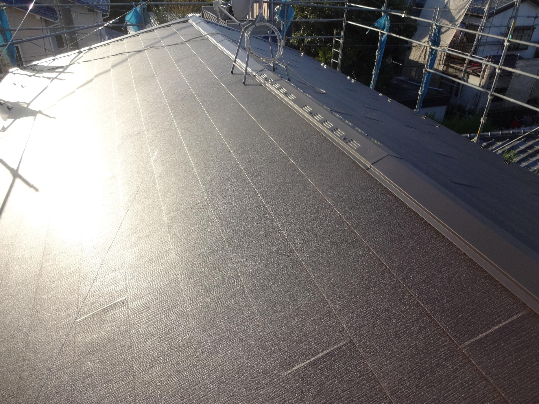 川崎市宮前区の屋根葺き替え工事