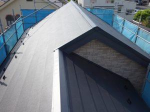 横浜市鶴見区の屋根カバー工事