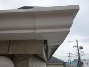 川崎市高津区の雨樋交換工事