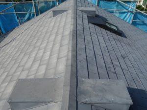 劣化したガルバリウム鋼板屋根