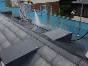 ガルバリウム鋼板水洗い