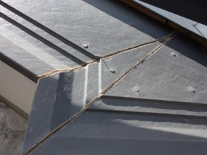 破風板の劣化(窯業系)