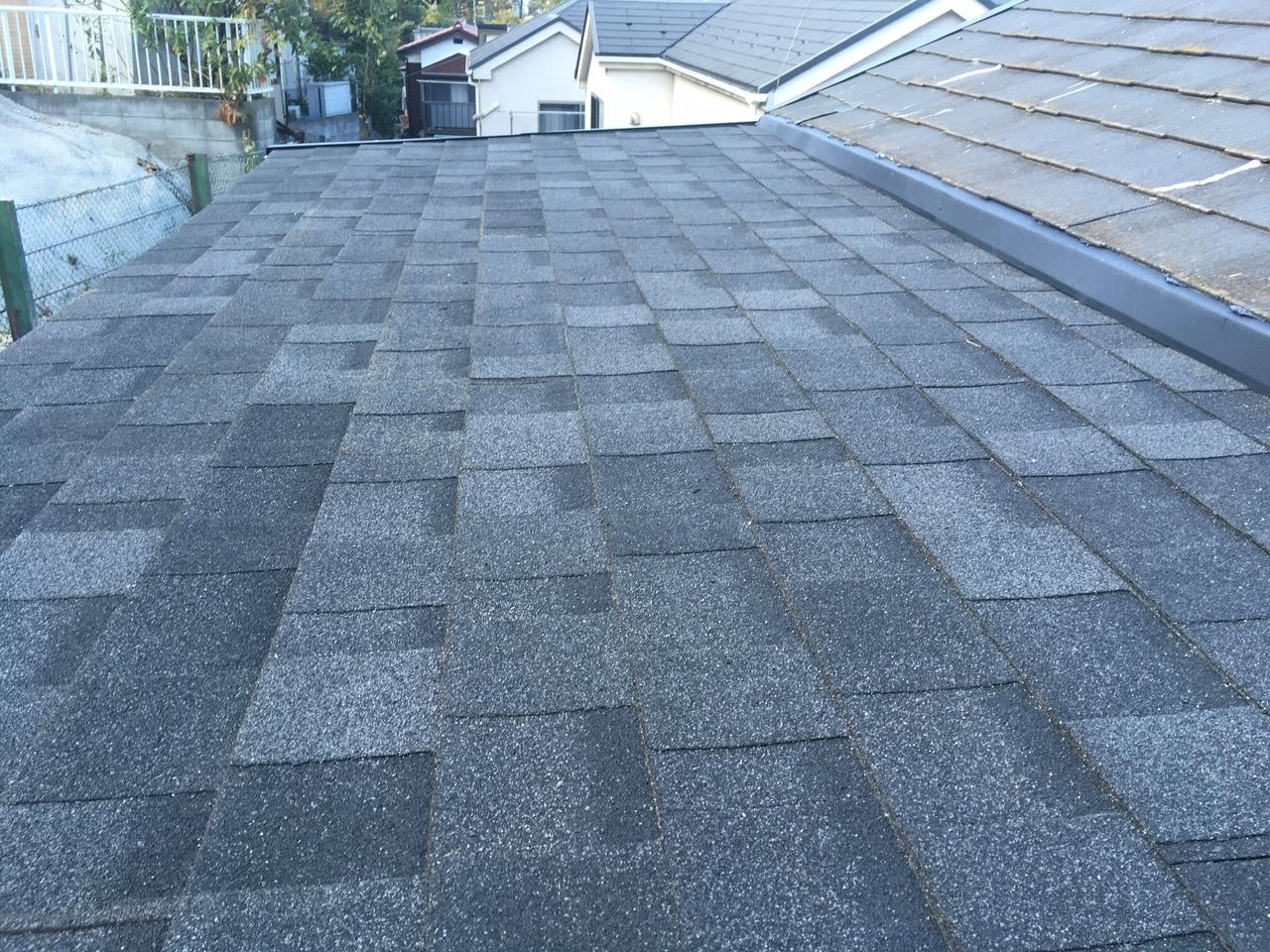 川崎市宮前区で屋根張替え工事を行いました
