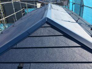 川崎市中原区の屋根カバー工事
