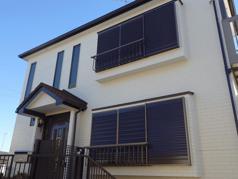 横浜市鶴見区|外壁塗装工事の施工事例