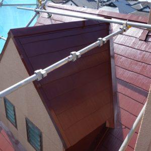 川崎市高津区|屋根塗装工事の施工事例