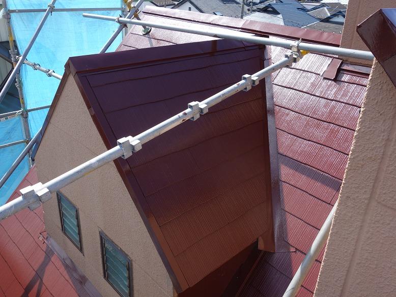 川崎市高津区の屋根塗装工事