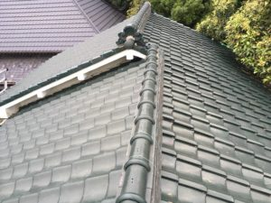 粘土瓦屋根