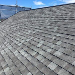 横浜市金沢区|屋根カバー(リッジウェイ使用)の施工事例