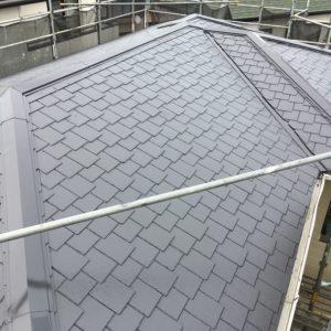 横浜市青葉区|棟板金交換、屋根塗装の施工事例