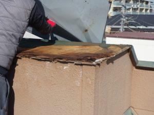 屋根板金解体
