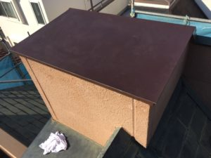 屋根板金修理の完成