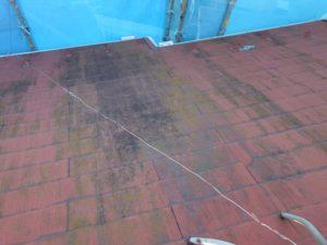 屋根材のコケや汚れ