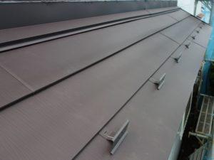 下屋根カバー工事完工