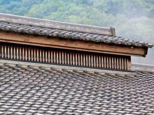 雨樋が無い屋根