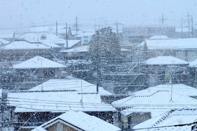 屋根の積雪