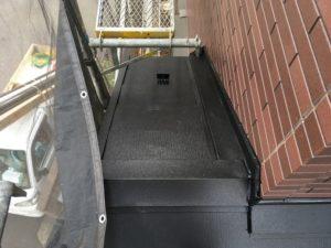 施工後の下屋根