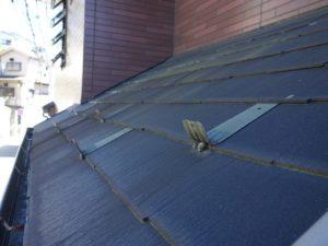 下屋根スレート