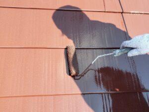ガルバリウム鋼板上塗り