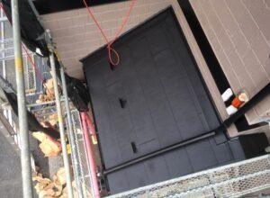 玄関屋根仕上がり