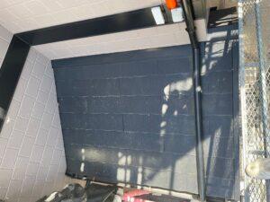 玄関上屋根施工前